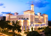 In grand opening ceremonies attended by 10,273 Scientologists, the Church of Scientology dedicated its new international spiritual headquarters—the Flag Building—on November 17, 2013, in Clearwater, Florida. Mr. David Miscavige, Chairman of the Board Religious Technology Center and ecclesiastical leader of the Scientology religion, led the dedication.