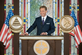 </p> <p>Underscoring the role served by the new National Affairs Office in the Church's greater social and humanitarian mission, Mr. David Miscavige, Chairman of the Board Religious Technology Center and ecclesiastical leader of the Scientology religion, dedicated the new facility.</p> <p>