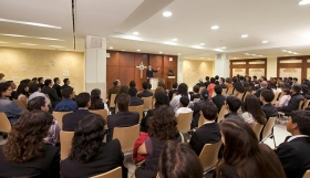 The chapel of the new Scientology Organization for Mexico serves parishioners and guests for Sunday Services, Weddings, Naming Ceremonies and other congregational gatherings.