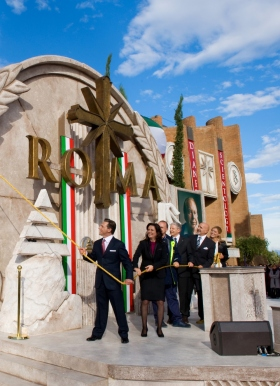 Mr. David Miscavige led the ribbon cutting to open the new Church of Scientology of Rome, joined by the Church's Executive Director and dignitaries, marking the greatest expansion in 30 years of Scientology in Italy.