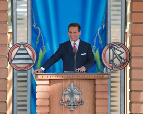 Mr. David Miscavige, Chairman of the Board of Religious Technology Center and ecclesiastical leader of the Scientology religion, officiated at the dedication and opening of the Church of Scientology of Malmö on April 4, 2009.